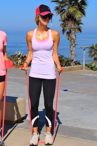 Lauryn Evarts is a fitness instructor from San Diego, California talks skinny tips and tricks for weight loss.