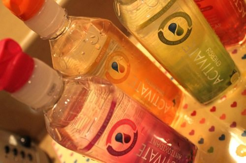 Activate's vitamin-enhanced water