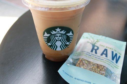 Healthy food at Starbucks