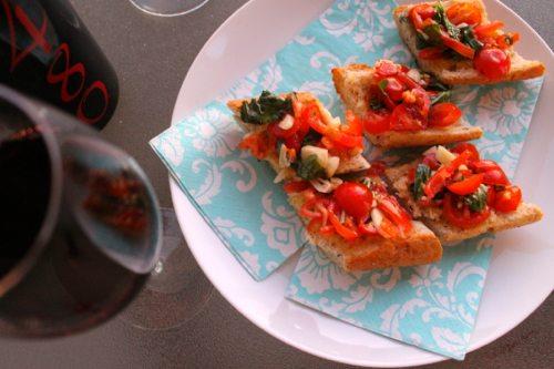 Basil-Filled-Bruschetta-with-2480-red-wine