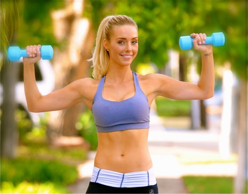 Lauryn Evarts, weight loss blogger with skinny tips and tricks