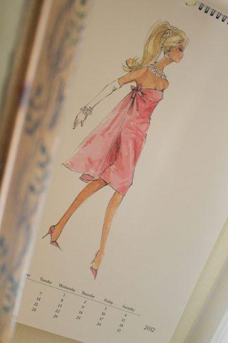 Mini-DeLites-with-a-Barbie-vintage-calender