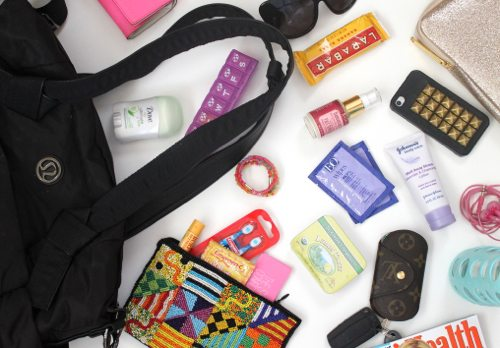 Lauryn Evarts, fitness and health blogger talks about what's in her gym bag