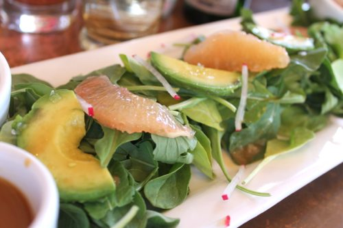 Burlap-Brunch-with-avocado-salad
