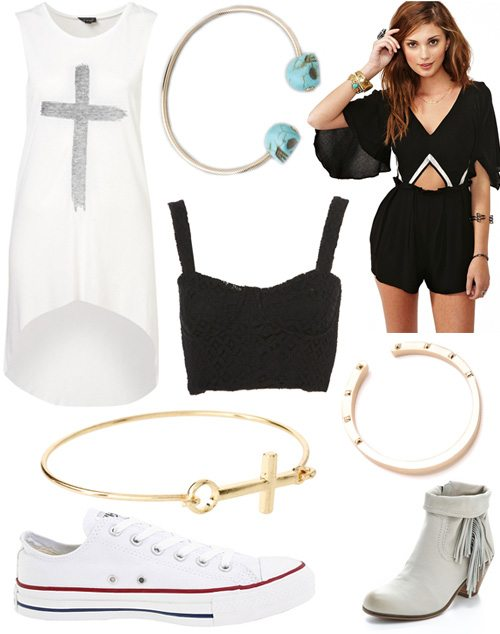 Black-white-and-gold-summer-essentials-for-2012