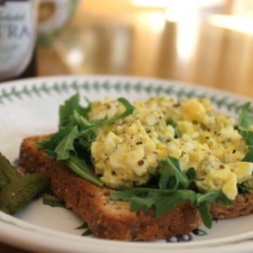 An Egg Salad Makeover