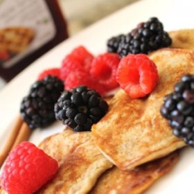 Ummm…Seriously Dying!! Two Ingredient Pancakes…Gluten Free, Flourless, & Full of Protein