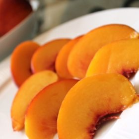 Peaches & Cream…But Without the Sugary, Creamy Crap