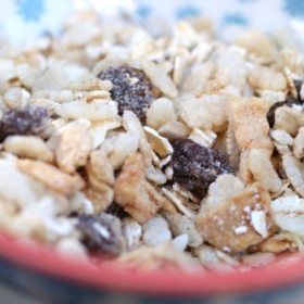 DIY Fiber-Filled Cereal…Because Honey Smacks Isn't Cutting It