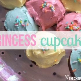 Princess, Sparkly Birthday Cupcakes That Have Absolutely No Health Benefits