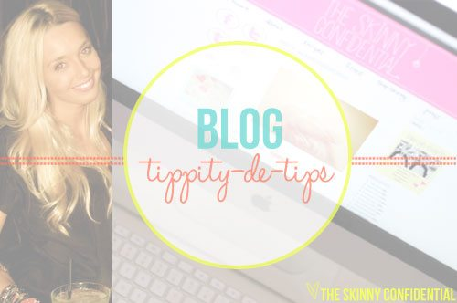 Lauryn Evarts, fitness blogger and lifestyle blogger talks blog tips, tricks, and advice.