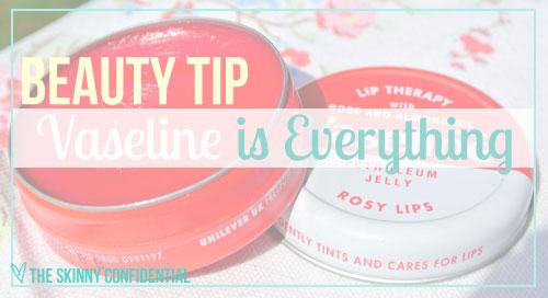 Vaseline-benefits