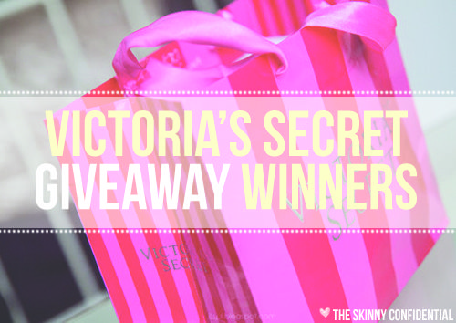 Lauryn Evarts hosts a Victoria's Secret Giveaway on The Skinny Confidential lifestyle blog.