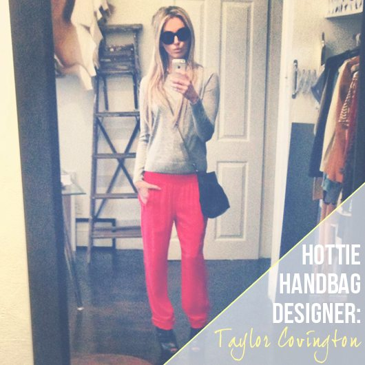 Lauryn Evarts talks with handbag designer, Taylor Covington about diet, fitness, and fashion.