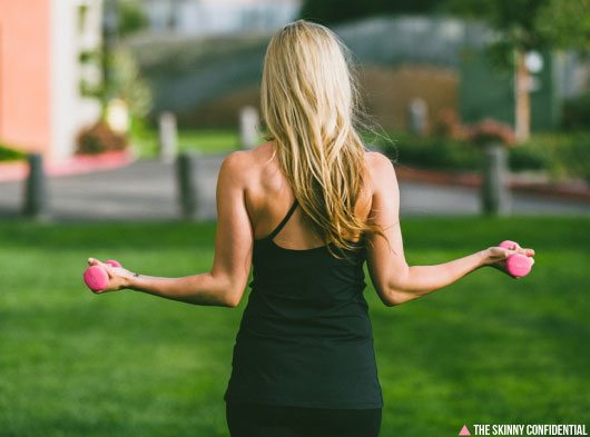 Lauryn Evarts and Splits59 talk fitness and workout clothes.