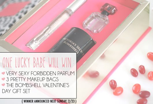 The Skinny Confidential collabs with Victoria's Secret for a giveaway.