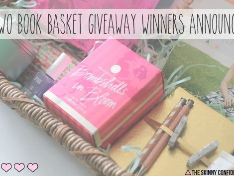 Winner of The Skinny Confidential book giveaway.