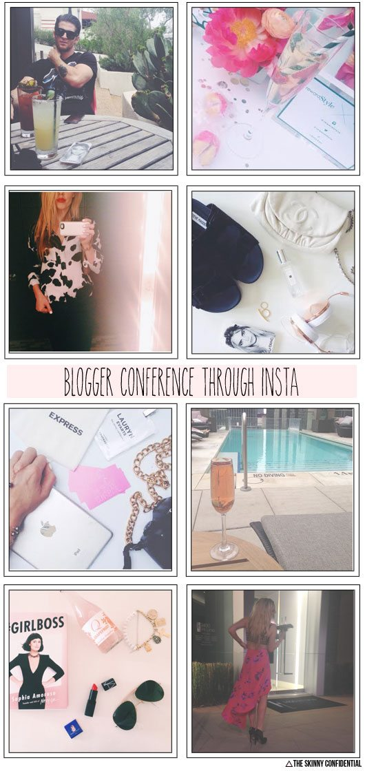 The Skinny Confidential attends the RewardStyle Blogger Conference.