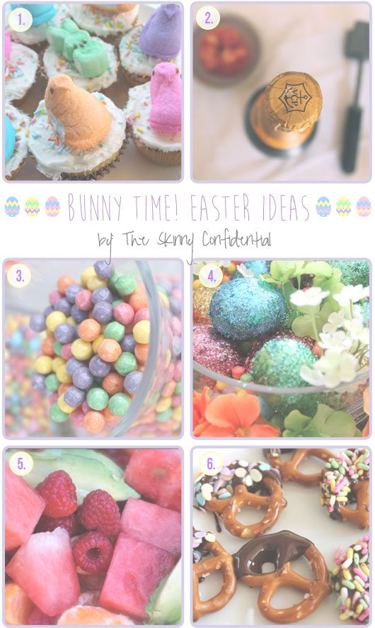 The Skinny Confidential talks Easter ideas.