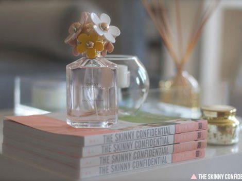 The Skinny Confidential x Marc Jacobs Daisy perfume.