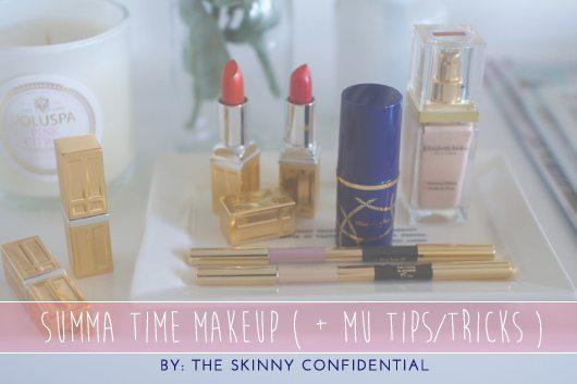 The Skinny Confidential x Elizabeth Arden.