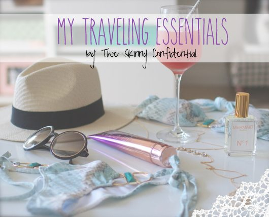 The Skinny Confidential talks travel bag details.