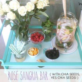 Rosé Skinny Sangria Bar