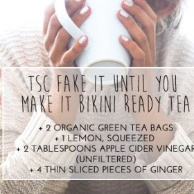Pre-Bikini, Badass, Natural Diuretic Tea