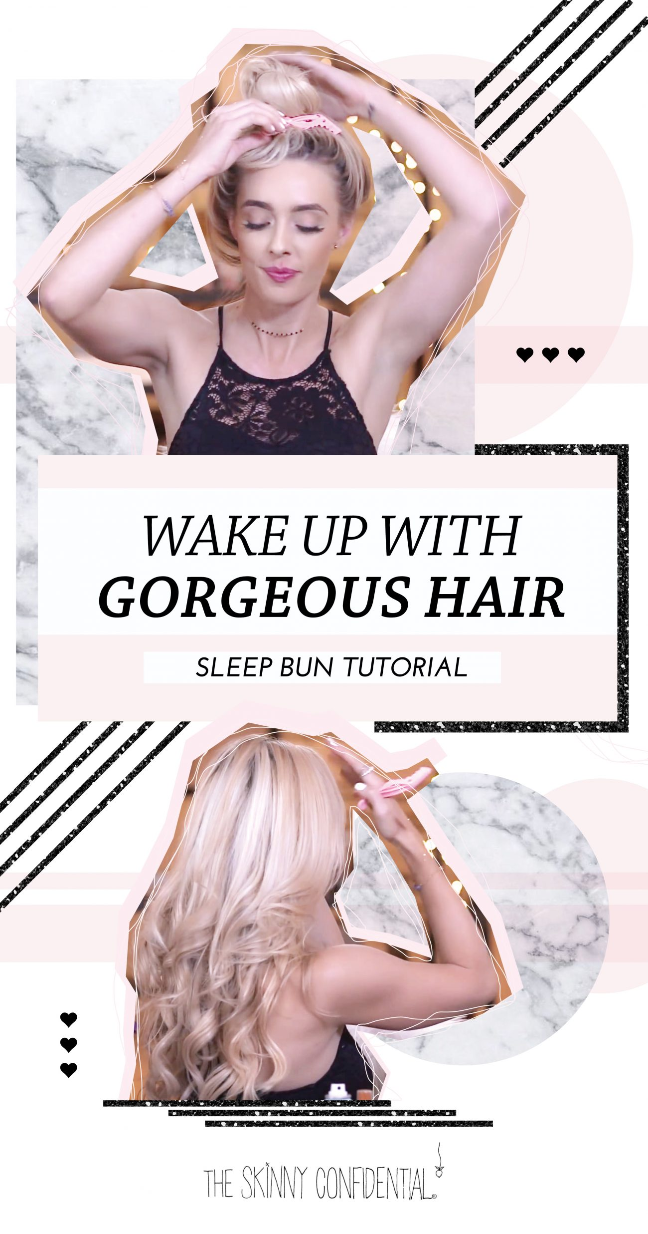 effortless morning hair by the skinny confidential