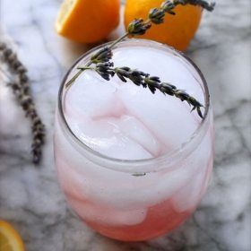 Yummmmm x A Mill: Lavender Meyer Lemonade {!!!}