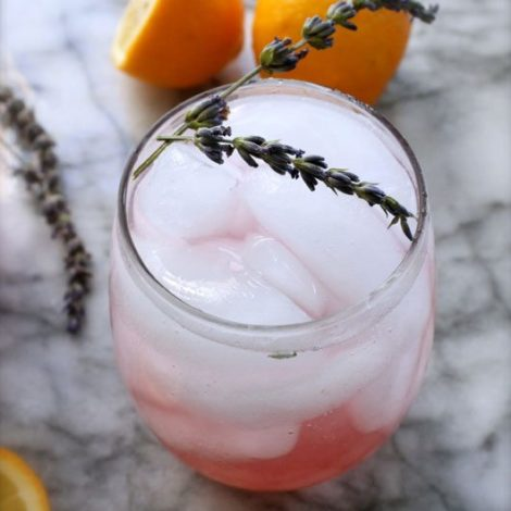 The Skinny Confidential shares lavender lemonade.