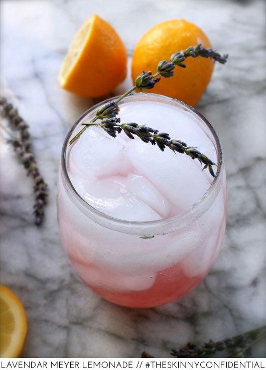 The Skinny Confidential shares lavender lemonade.