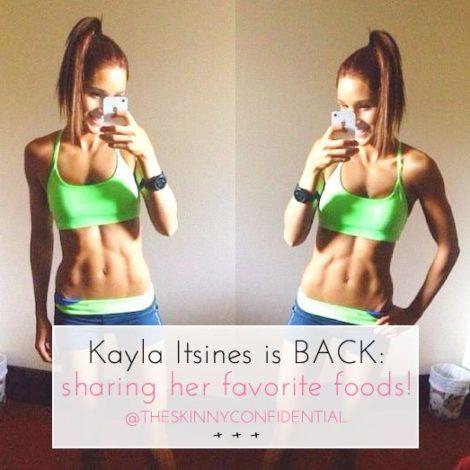 The Skinny Confidential x Kayla Itsines.
