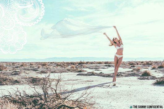 The Skinny Confidential x model Alyssa Smith.