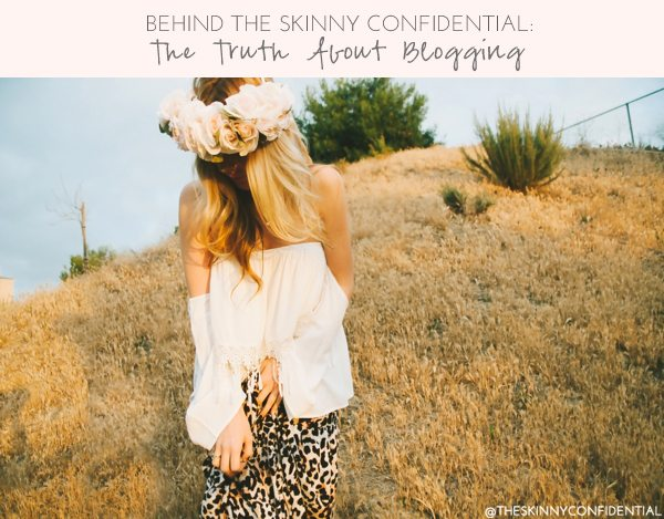 The Skinny Confidential talks behind the blog.