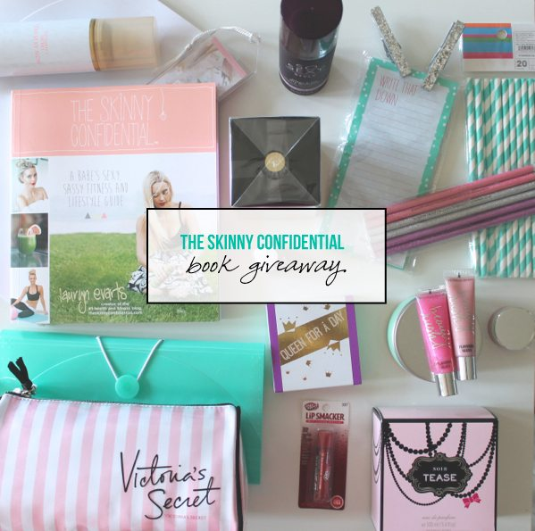 The Skinny Confidential book giveaway.