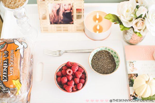 The Skinny Confidential shares a chia seed jam recipe.