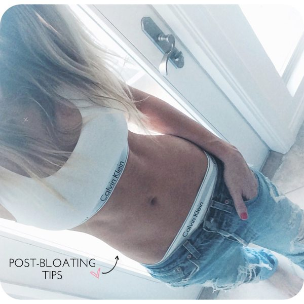 The Skinny Confidential talks bloating tips.