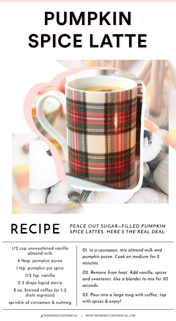recipe pumpkin gingham mug