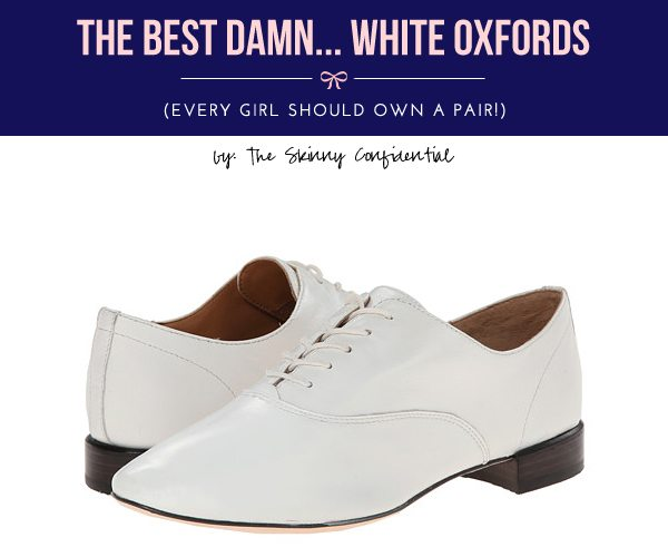 The Skinny Confidential talks oxfords.