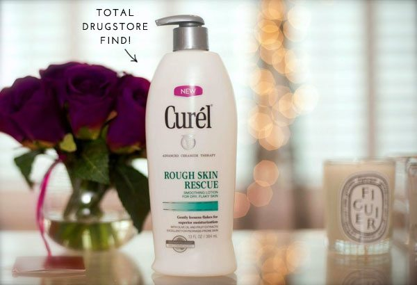 Moisturizer for dry skin: The Skinny Confidential x Curel Lotion.