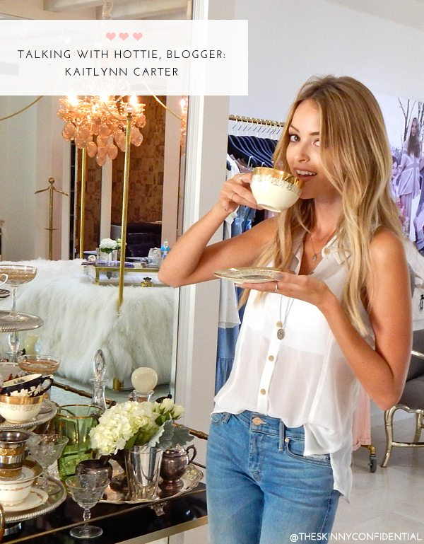 The Skinny Confidential x Kaitlynn Carter.