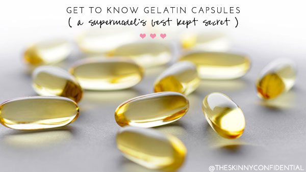 The Skinny Confidential talks gelatin capsules.