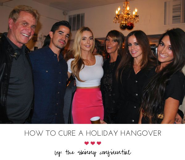 Holiday parties by: The Skinny Confidential.