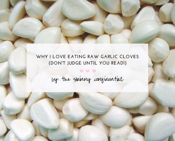 The Skinny Confidential talks garlic.