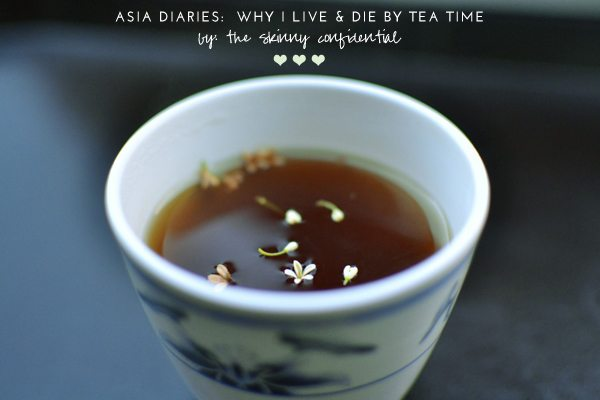 The Skinny Confidential talks Asian tea time.