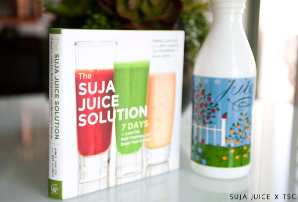 The Skinny Confidential x Suja Juice.