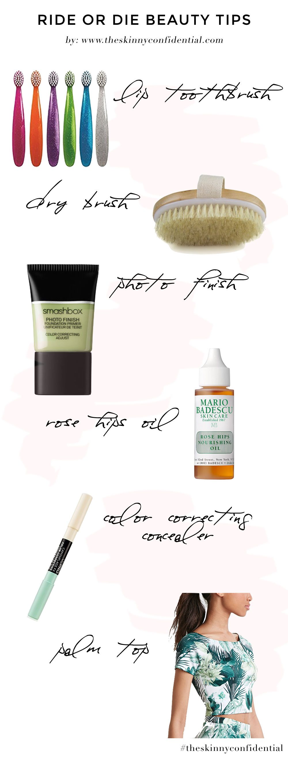 The Skinny Confidential talks beauty products.