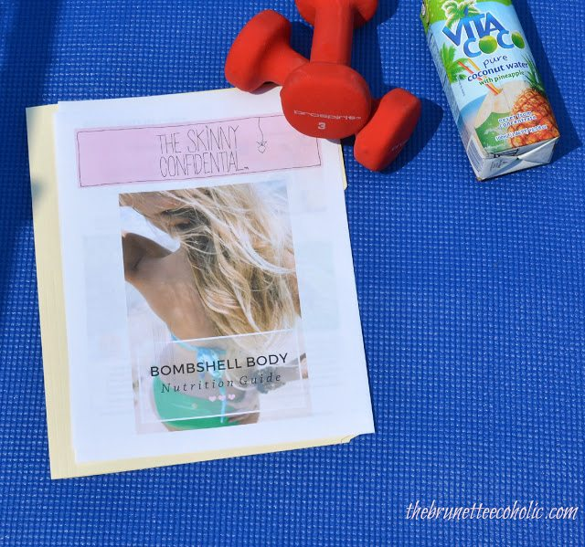 The Brunette Ecoholic Reviews The Skinny Confidential Bombshell Body Guide