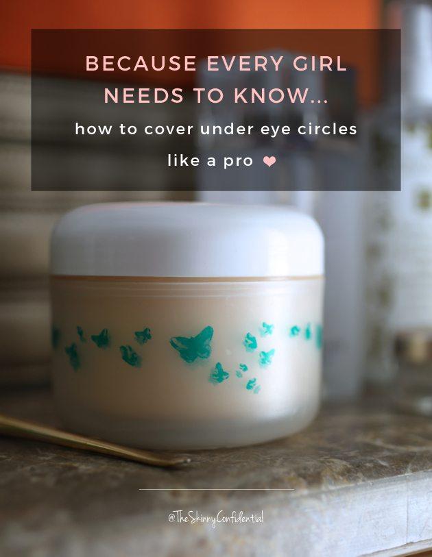 The Skinny Confidential talks makeup tricks.